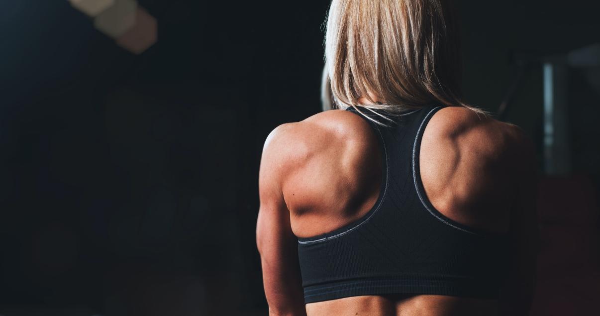Definición de masa muscular o pérdida de grasa localizada